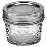Ball Quilted Jelly Canning Jar 4 Oz (Pack of 12)