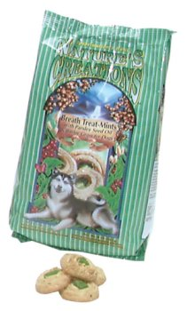 Veterinarian's Best Nature's Creations Breath Treat-Mint Dog Treats