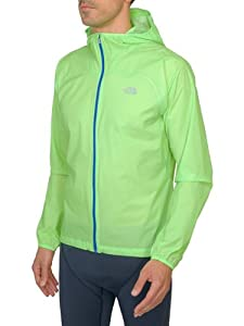 the north face giacca feather lite storm power green uomo S