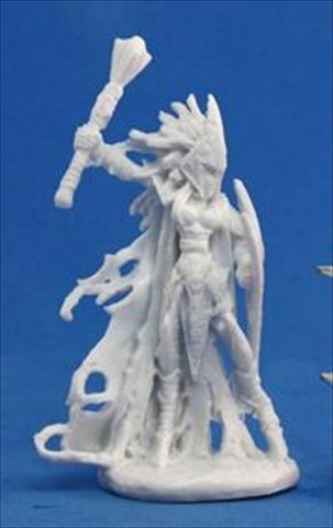 Tierdeleira, Dark Elf Cleric (1) Miniature - 1