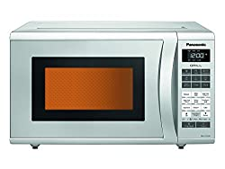 Panasonic NN-GT352M Epoxy 23-Litre Grill Microwave Oven (Silver)