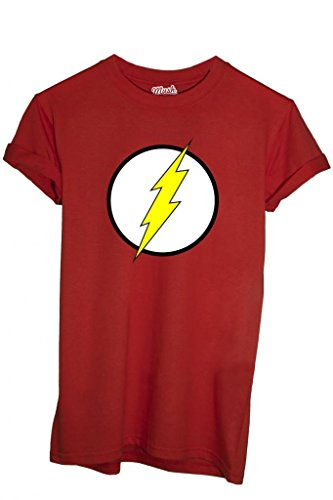 T-Shirt FLASH GORDON LOGO - CARTOON by iMage Dress Your Style - Bambino-M-ROSSA