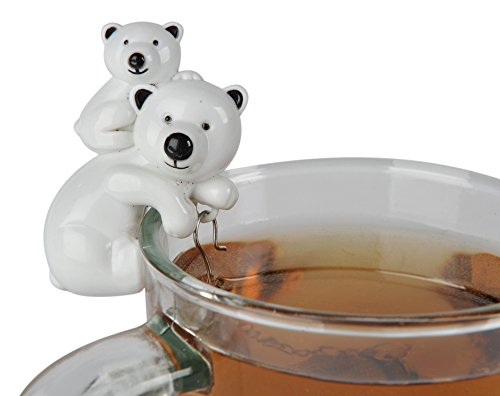 Sevy Polar Bear & Cub Tea Infuser