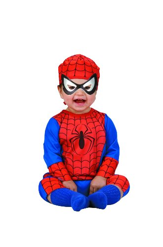 Disguise Marvel Spider-Man Infant Costume, Red/Blue (Size 12-18 mos)