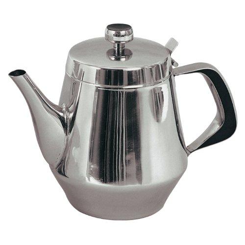 20 Oz. Stainless Steel Tea Pot Gooseneck Spout *Mirror Finish*