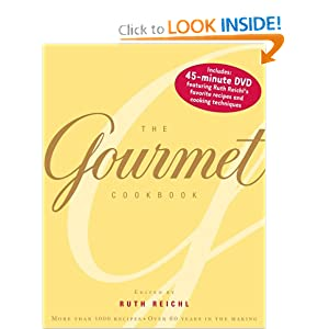 The Gourmet Cookbook: More than 1000 recipes Ruth Reichl, John Willough