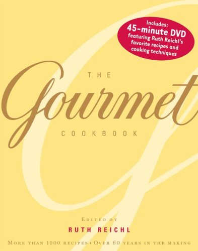 The Gourmet Cookbook: More than 1000 recipes image