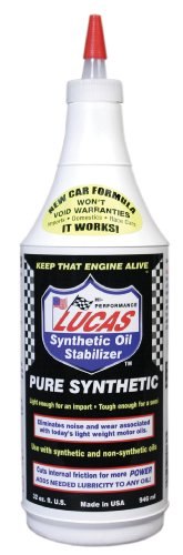 Lucas 10130 Synthetic Oil Stabilizer. Quart