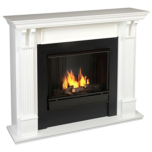 Real Flame Ashley Indoor Gel Fireplace - White (Gel Fireplace Ashley compare prices)