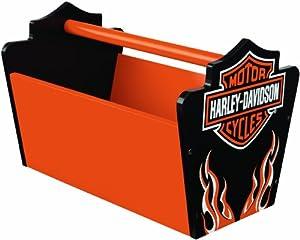 KidKraft Harley Davidson Flames Toy Caddy
