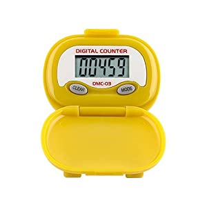 Buy DMC-03 Multi-Function Pedometer (color: YELLOW) by Heart Rate Monitors