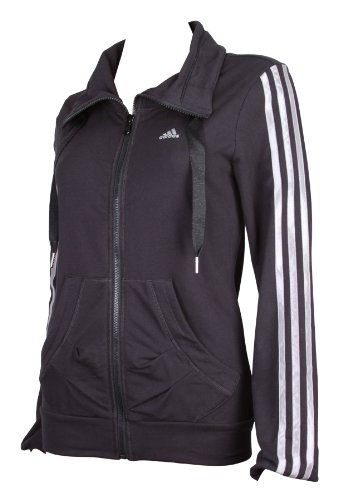 Adidas 3s Womens Track Tops Jackets zipped sweaters