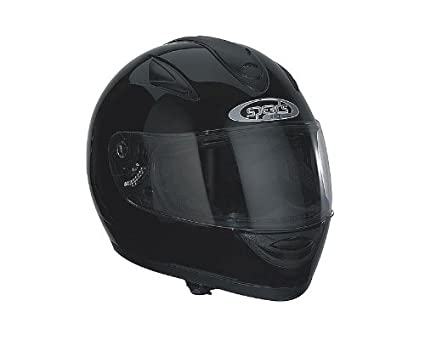 Casque Speeds Integral Race noir brillant taille M
