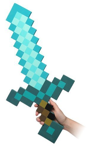 MINECRAFT(マインクラフト) Foam Diamond Sword フォーム・ダイアモンド・ソード [並行輸入品]