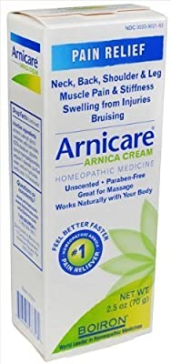 Boiron Arnica Cream -- 2.5 oz (Pack of 3)