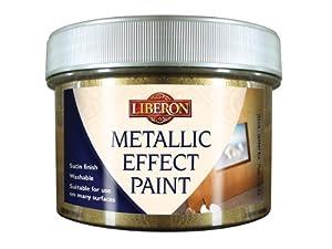 Liberon MEPATB250 250ml Metallic Effect Paint - Antique Bronze