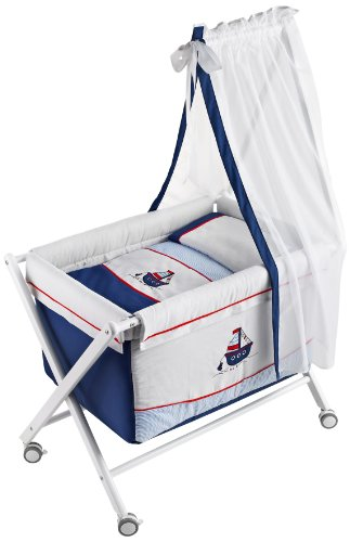 Best Deal Naf Naf Mini-Cot with Crib-style Stand, Textiles ...
