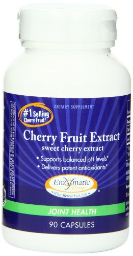 Enzymatic Therapy Cherry Fruit Extract, 90 Capsules