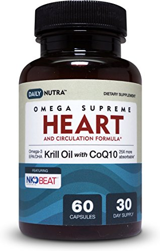 Krill oil coq10 heart circulation formula by for Does fish oil lower cholesterol