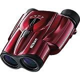 Nikon 8-24X25 Aculon Zoom Binocular - Red (Color: Red)