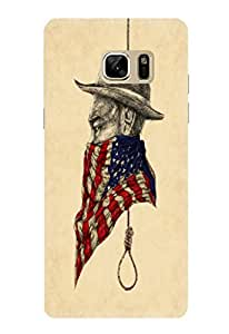 Samsung Galaxy Note 7 Designer Cover Case By CareFone