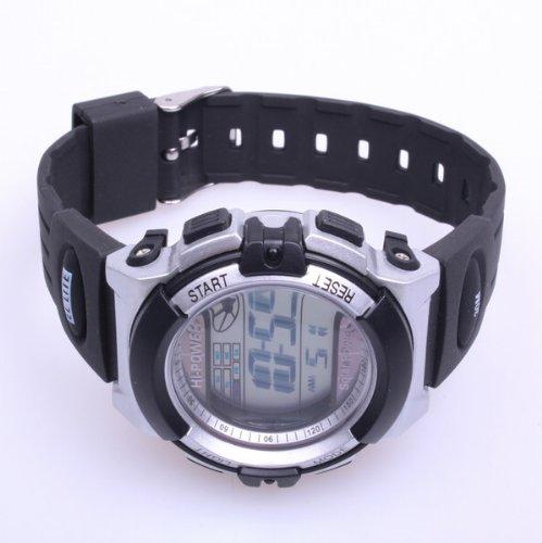 Bestdealusa Water Resistance Digital El Backlight Timekeeping Sport Watch Using Solar Power