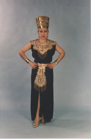 Black Queen Of The Nile Costume
