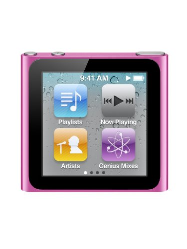 New iPod nano 16GB (6th Generation) - Pink