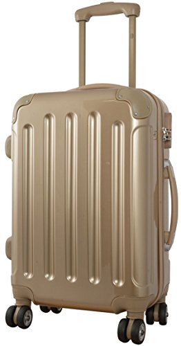 1-Koffer-Nepal-Farbe-Gold-Gre-L-Carbon-Polycarbonat-Hartschale-Reisekoffer-Trolley-Case-Fa-Bowatex