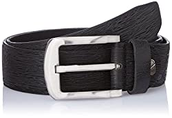Dandy AW 14 Black Leather Men's Belt (MBLB-307-M)