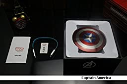 Captain America Universal 6800mAh Dual USB Mobile Power Source Bank