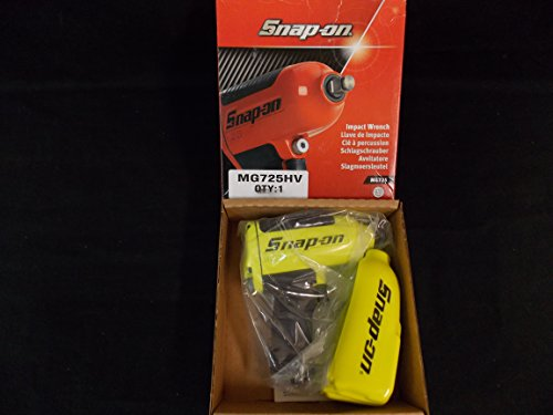 Snap-On 1/2 inch Drive Super Impact Wrench, Special Paint (Yellow Lime), Part #MG725HV, VERY RARE