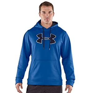 Men's Armour® Fleece Storm Big Logo Hoodie Tops by Under Armour Medium Squadron