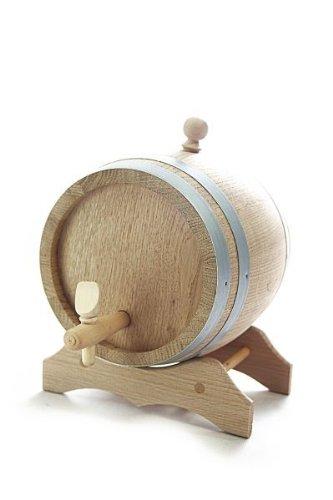 barrique-en-bois-5-l-avec-support-bois-de-chene-naturel-sec