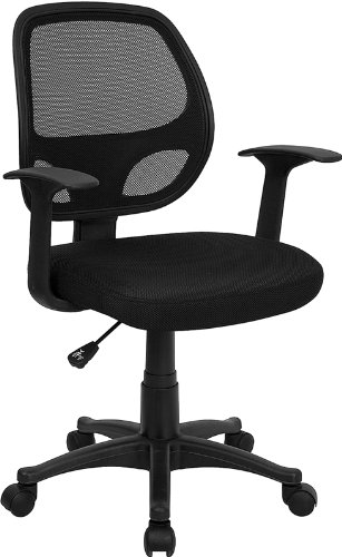 Buy Flash Furniture Mid Back Black Mesh puter Chair