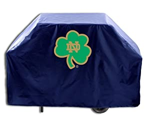Buy NCAA Notre Dame Fighting Irish 60 Grill Cover, Shamrock Logo by Covers HBS