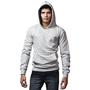 Himachel Mens Sweat | Grey Melange | M