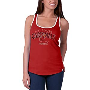 Buy St. Louis Cardinals Ladies 47 Brand MLB Headway Tank Top Shirt - Red by '47 Brand