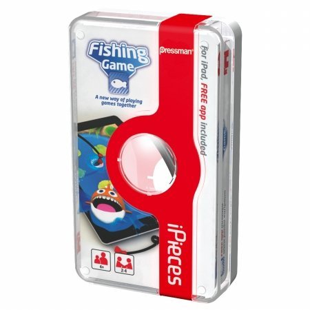 PRESSMAN 170489 Pressman Toy - iPieces Fishing Game