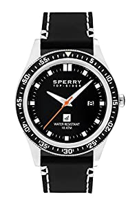 Sperry Top-Sider Men's 10008991 Navigator Analog Display Japanese Quartz Brown Watch from Sperry Top-Sider Watches MFG Code