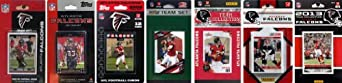 NFL Atlanta Falcons 7 Different Licensed Trading Card Team Sets by C&I Collectables
