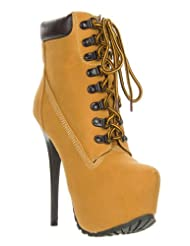 Womens Work Boots With High Heels 70
