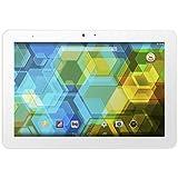 "BQ Edison 3 - Tablet de 10.1"" (WiFi + Bluetooth 4.0, 16 GB, 2 GB de RAM, Android KitKat 4.4), blanco"
