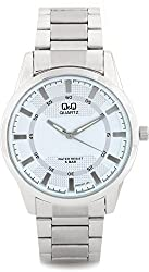 Q&Q Analog Silver Dial Mens Watches - Q890J201Y
