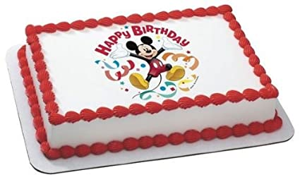 Mickey Mouse 14 Sheet Cake 14 Sheet   Mickey Mouse