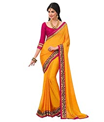 Geet Fashion Solution by jyoti yellow saree