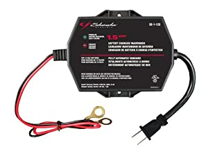 Schumacher SE-1-12S Fully Automatic Onboard Battery Charger - 1.5 Amps by Schumacher