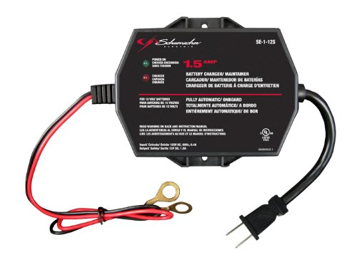 Schumacher SE-1-12S Fully Automatic Onboard Battery Charger – 1.5 Amps