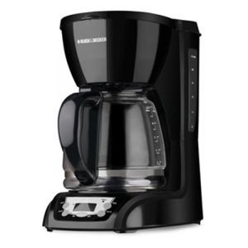 APPLICA Black and Decker Glass Carafe Drip Coffee Maker / DLX1050B /