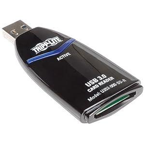Tripp Lite USB 3.0 Super Speed SDXC Card Reader (U352-000-SD-R) -